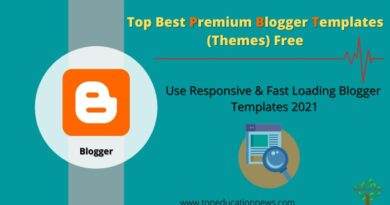 Best Blogger Templates 2021