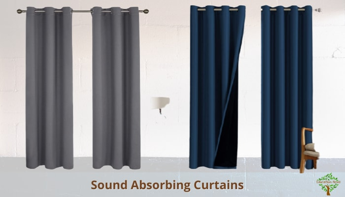 Sound Absorbing Curtains