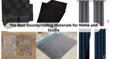Soundproofing Materials for Home and Studio